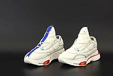 Мужские кроссовки MACCIU x Nike Zoom Type. Белые. ТОП Реплика ААА класса., фото 3