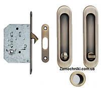 Ручки  для раздвижной двери с фиксацией Siba 223 AB
