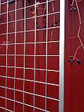 Торгова сітка сітка осередок 5 см сірий металік під замовлення від виробника, фото 6