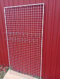 Торгова сітка сітка осередок 5 см сірий металік під замовлення від виробника, фото 3