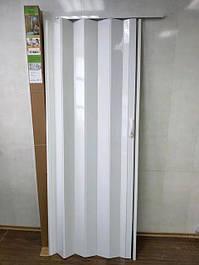 Дверь гармошка глухая 810х2030х6мм