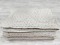 Одеяло Конопляное, Полуторное, Зимнее, покрытие Лён Пальмы, фото 1