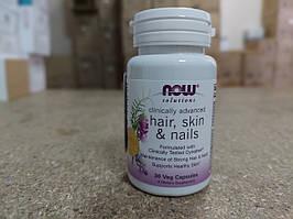Витамины NOW FOODS HAIR,SKINS. NAIL CLINICALLY (Волосы, ногти, кожа)