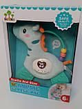 Мягкая игрушка развивающая музыкальная SUNLIKE Зебра, Жираф, Детская погремушка, свет, SL88004/5, фото 3
