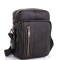 Мужская сумка через плечо из натуральной кожи Tiding Bag N2-9801A, фото 1