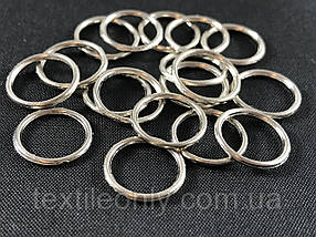 Кільце білизняний 10 мм колір нікель (срібло)