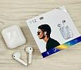 Беспроводные Bluetooth наушники сенсорные TWS Y-12, (Белый), фото 2