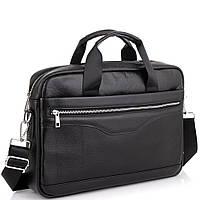 Мужская кожаная деловая сумка для ноутбука Tiding Bag A25-1128-1A, фото 1