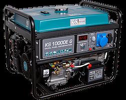 Генератор газобензиновый Konner&Sohnen KS 10000E G (8 кВт)