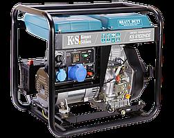 Генератор дизельний Konner&Sohnen Heavy Duty KS 6102HDE (Euro II) (5.5 кВт)