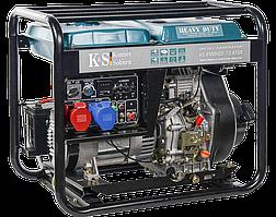 Генератор дизельний Konner&Sohnen Heavy Duty KS 8100HDE-1/3 ATSR (Euro V) (6.5 кВА, 3ф~)