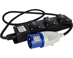 Подовжувач-адаптер Konner&Sohnen KS EX1.5M-3S (1.5 м)