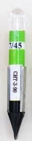Коммутаторная лампа светодиодная СИТ-З-35  T6.8 зеленая