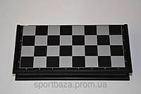 Шахматы, шашки, нарды дорожный набор (пластик, фигуры на магнитах, р-р доски 47см*47см)