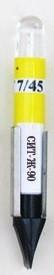 Коммутаторная лампа светодиодная СИТ-Ж-35 Т6,8 желтая