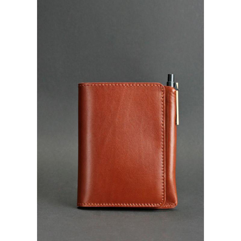 Кожаное портмоне 2.0 светло-коричневое