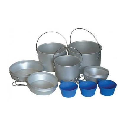 Набор посуды Tramp алюминий, пластмасс Трэмп, TRC-002, фото 2