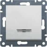 Кнопка с подсветкой Lumina-2, белый