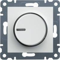 Светорегулятор поворотный 60-600Вт Lumina-2, белый