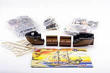 """Конструктор """"Піратський корабель"""" 590 деталей Brick-307, фото 3"""
