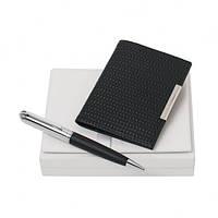 Набір Sierra Black (кулькова ручка і візитниця) Nina Ricci, фото 1