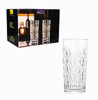 Подарочный набор высоких стаканов 6 шт Бристоль Helios 280 мл