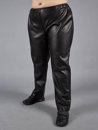 Шкіряні штани великих розмірів для повних, фото 2