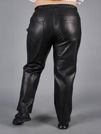Кожаные штаны больших размеров для полных, фото 2