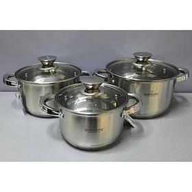 Набор посуды BOHMANN 6 предметов  BH-0516