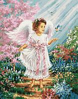 Картина по номерам Brushme Ангелочек