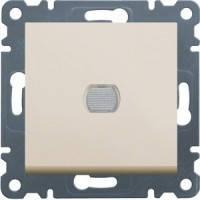 Светорегулятор нажимной 60-300Вт Lumina-2, крем