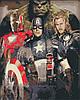 Картина за номерами Месники Супергерої Marvel +ЛАК 40*50см Барви Розфарбування по цифрам, фото 2