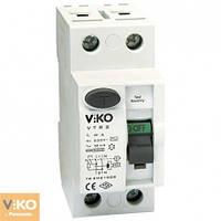Устройство защитного отключения 2P (двухполюсное) 300мА 230V VIKO - 25А