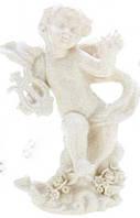 Ангел с лирой на подставке 15 см