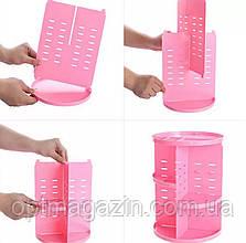 Органайзер для косметики 360 градусів. Регульована коробка для зберігання, стійка для косметики, фото 3