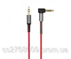 "AUX кабель Hoco UPA02 ""Spring Audio"" 1m червоний"