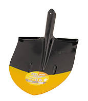 "Лопата штыковая ""Американка"" 240*290*425 мм черно-желтая покраска 0,9 кг MASTERTOOL 14-6257"