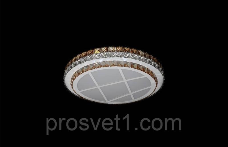 Светодиодная припотолочная люстра 6017/500 CH  ЛС