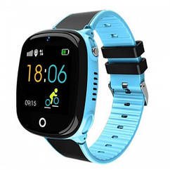 Дитячий Водонепроникний годинники з gps Smart baby HW11 голубий