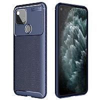 Чехол Carbon Case для Google Pixel 4A Blue