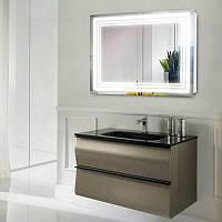 Зеркало с LED подсветкой 10 Вт 900х700 и выключателем   дзеркало на стіну з підсвіткою і кнопкою