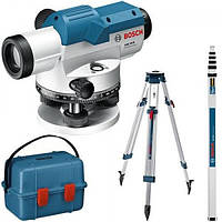 Оптичний нівелір Bosch GOL 26 D Professional + BT 160 + GR 500 (100 м) (0601068002)