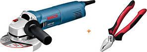 Кутова шліфмашина Bosch GWS 1400 Professional + Wiha (1.4 кВт, 125 мм) (0615990K31)