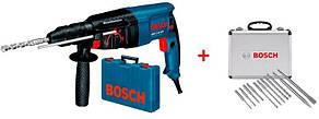 Перфоратор Bosch GBH 2-26 DRE Professional + 11 буров (0615990L43)