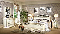 Кровать Feilong крем 66812, фото 1