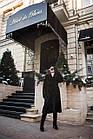 Шуба Норковая  Черная 115 см Под Пояс 115/115  0579ЕИШ, фото 7