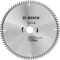 Пиляльний диск Bosch Eco for Wood 254x3.0x30-80T (2608644384)