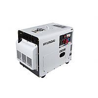 Дизельний генератор Hyundai DHY 6000SE-3 (5 кВт, ~3ф, 380 В)