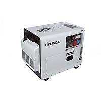 Дизельний генератор Hyundai DHY 8500SE-3 (7.2 кВт, ~3ф, 380 В)