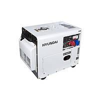 Дизельний генератор Hyundai DHY 8500SE-Т (7.2 кВт, ~3ф, 380 В)